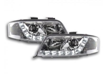 luce di marcia diurna fari Daylight Audi A6 4B anno di costruzione 01-03 cromato