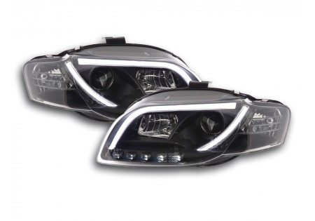 coppia fari Daylight coppia con luci di marcia diurna Audi A4 tipo 8E anno di costr. 05-07 nero