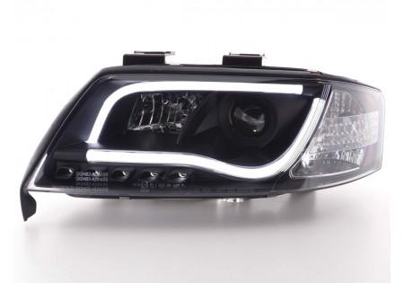 coppia fari Daylight coppia Audi A6 tipo 4B anno di costr. 97-01 nero AC-CBFSAI13019