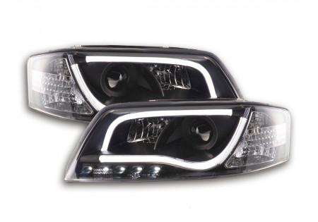 coppia fari Daylight coppia con luci di marcia diurna Audi A6 tipo 4B anno di costr. 97-01 nero AC-CBFSAI13023