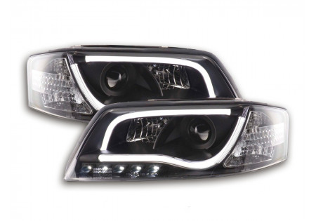 coppia fari Daylight coppia con luci di marcia diurna Audi A6 tipo 4B anno di costr. 97-01 nero