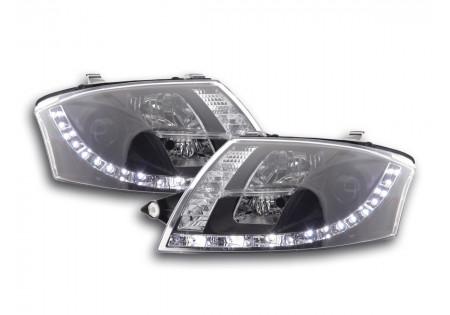 coppia fari Daylight Audi TT tipo 8N anno di costr. 99-06 nero AC-CBFSAI13515