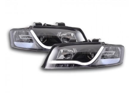 coppia di fari daylight Audi A4 tipo 8E anno di costr. 01-04 nero AC-CBFSAI13535
