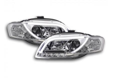 fari Daylight Audi A4 tipo 8E anno di costruzione 04-08 cromato per set fari DRL AC-CBFSAI13537