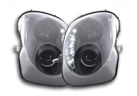 coppia fari luci di marcia diurna Daylight Alfa Romeo Mito anno di costr. 08- nero AC-CBFSAL011003