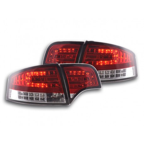 Led fanali posteriori Audi A4 Limousine tipo 8E anno di costruzione 04-07 rosso/chiaro