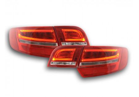fari posteriori LED Audi A3 Sportback (8PA) anno di costr. 04-08 rosso/chiaro AC-CBRLXLAI14015
