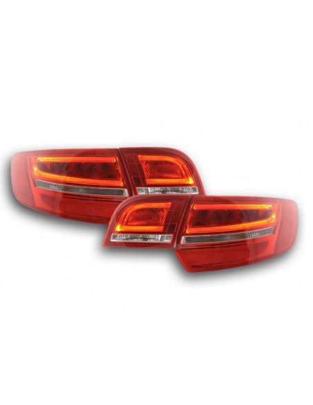 fari posteriori LED Audi A3 Sportback (8PA) anno di costr. 04-08 rosso/chiaro