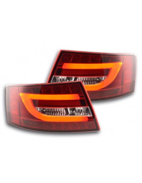 fari posteriori LED Audi A6 limousine (4F) anno di costr. 04-08 rosso/chiaro
