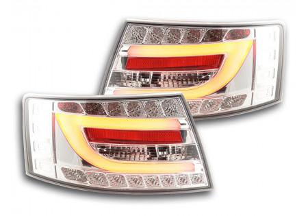 fari posteriori LED Audi A6 limousine (4F) anno di costr. 04-08 cromato