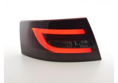 fari posteriori LED Audi A6 limousine (4F) anno di costr. 04-08 rosso/nero