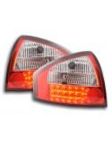 Led fanali posteriori Audi A6 Limousine tipo 4B anno di costruzione 97-03 cromato