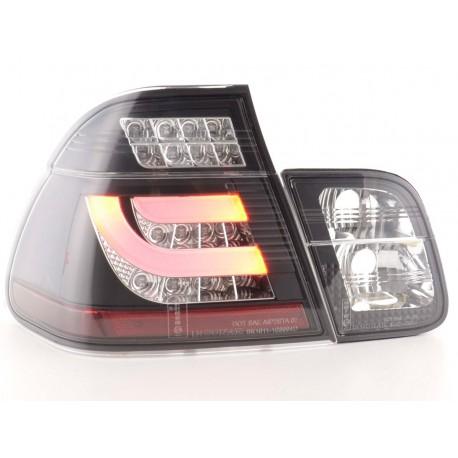 fanali posteriori LED BMW serie 3 E46 limousine anno di costr. 02-05 nero