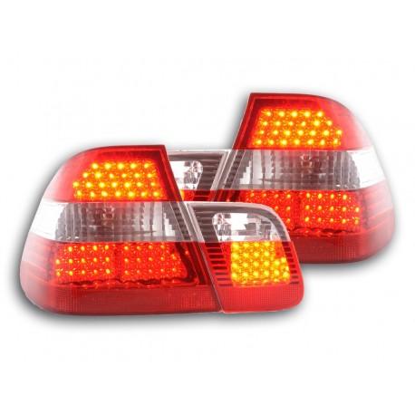 Led fanali posteriori BMW serie 3 E46 Limousine anno di costruzione 98-01 rosso/chiaro