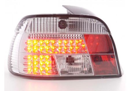 fanali posteriori LED BMW serie 5 E39 limousine anno di costr. 95-00- cromati
