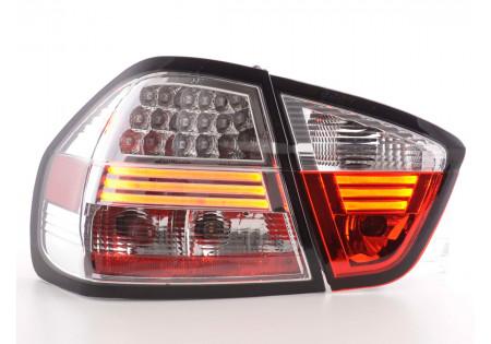 fanali posteriori LED BMW serie 3 E90 limousine anno di costr. 05-08- cromati