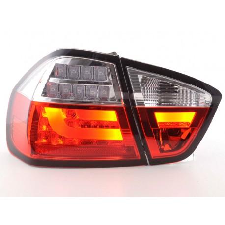 fanali posteriori LED BMW serie 3 E90 limousine anno di costr. 05-08 rosso/chiaro