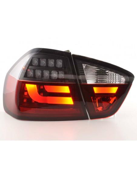 fanali posteriori LED BMW serie 3 E90 limousine anno di costr. 05-08 rosso/nero