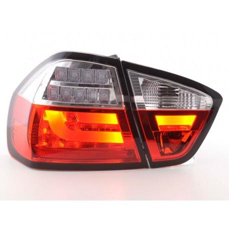 fanali posteriori coppia LED BMW serie 3 E90 Limo anno di costruzione 05-08 rosso/chiaro