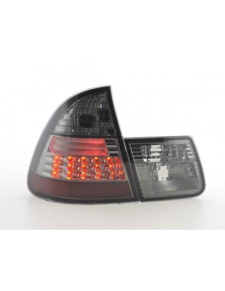 fanali posteriori LED BMW serie 3 E46 Touring anno di costr. 99-05 nero