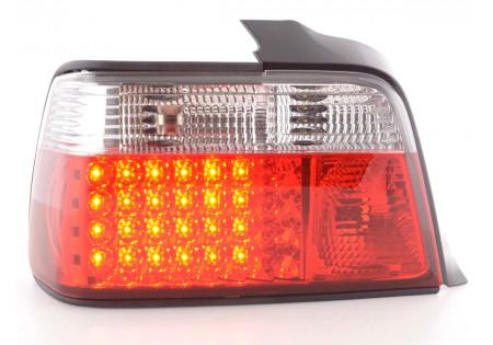 Led fanali posteriori BMW serie 3 Limousine tipo E36 anno di costruzione 91-98 nero/rosso