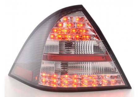 fanali posteriori LED Mercedes-Benz classe C tipo W203 limousine anno di costr. 01-04- nero