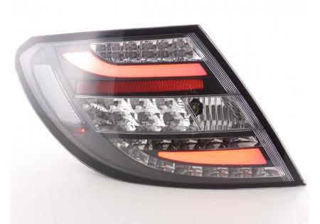 fanali posteriori LED Mercedes classe C tipo W204 anno di costr. 07-11 nero