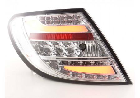 fanali posteriori coppia LED Mercedes C-classe tipo W204 anno di costruzione 2011- cromato