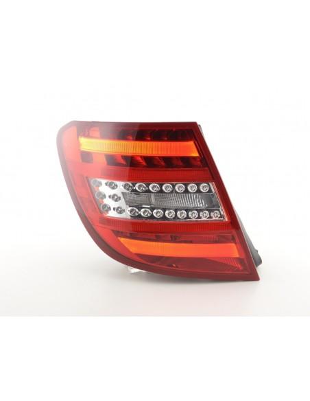 fari posteriori LED Mercedes C-classe stationwagon (204) anno di costr. 07-11 rosso/chiaro