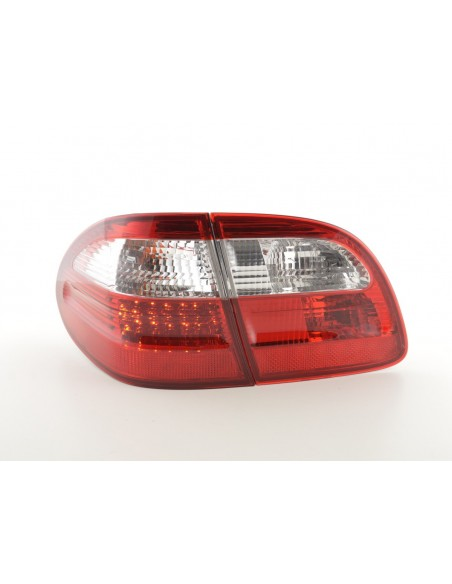 fari posteriori LED Mercedes E-classe stationwagon (210) anno di costr. 99-03 rosso/chiaro
