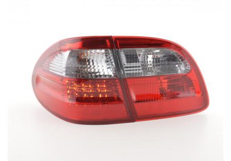 fari posteriori LED Mercedes E-classe stationwagon (210) anno di costr. 99-03 rosso/nero