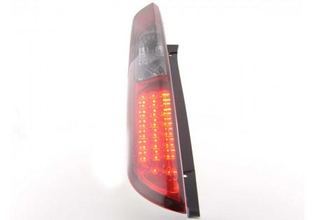 fanali posteriori LED Ford Focus 2 5 porte anno di costr. 04-08- rosso/nero