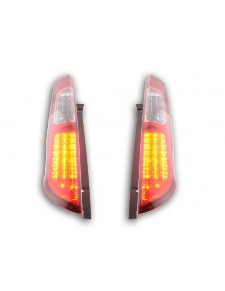 Led fanali posteriori Ford Focus 2 5 porte anno di costruzione 04-08 rosso/chiaro