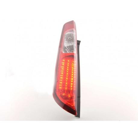 fanali posteriori LED Ford Focus 2 5 porte anno di costr. 08-10- rosso/chiaro