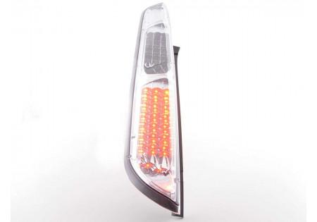 fanali posteriori LED Ford Focus 2 5 porte anno di costr. 08-10- cromati