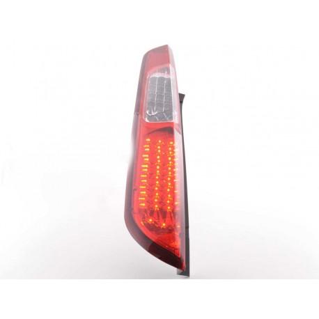 Led fanali posteriori Ford Focus 2 5 porte anno di costruzione 08-10 rosso/chiaro