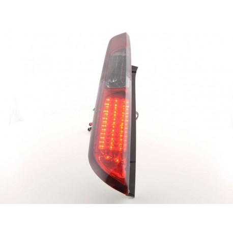 fanali posteriori LED Ford Focus 2 5 porte anno di costr. 08-10- rosso/nero