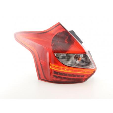 fari posteriori LED Ford Focus 3 hatchback anno di costr. a partire da 2010 rosso/chiaro
