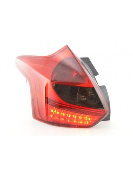 fari posteriori LED Ford Focus 3 hatchback anno di costr. a partire da 2010 rosso/nero