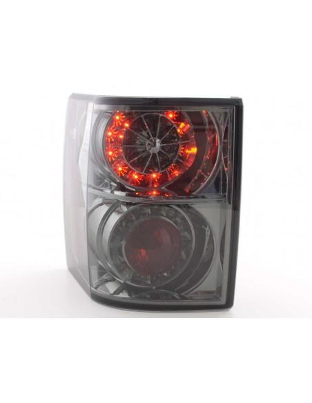 fanali posteriori LED Land Rover Range Rover anno da 2002 nero con frecce a LED