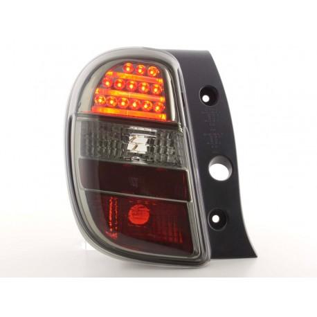 fanali posteriori LED Nissan Micra tipo K13- nero