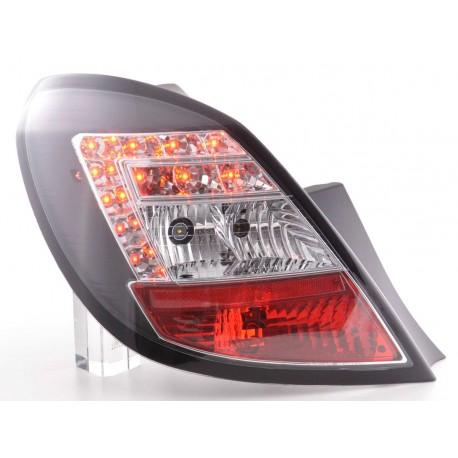 fanali posteriori LED Opel Corsa D 5 porte anno di costr. 06-10- nero