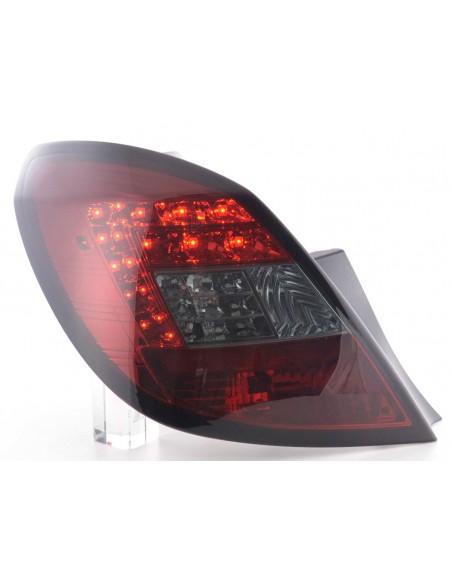 fanali posteriori LED Opel Corsa D 5 porte anno di costr. 06-10- rosso/nero