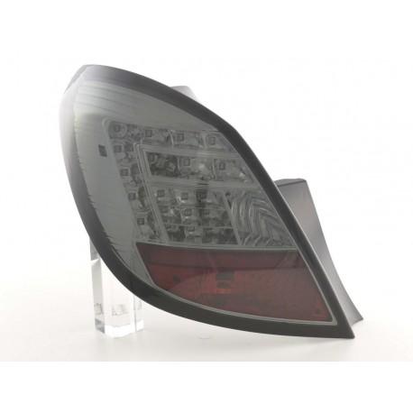 fanali posteriori coppia LED Opel Corsa D 5 porte anno di costruzione 06-10- nero