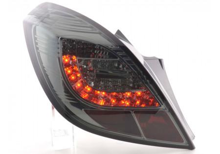 fanali posteriori LED Opel Corsa D 3 porte anno di costr. 06-10- nero