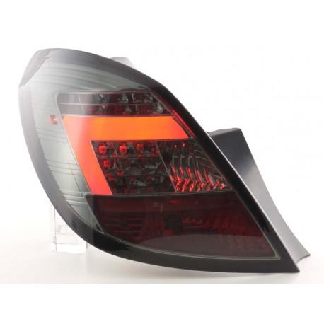 fanali posteriori LED Opel Corsa D 5 porte anno di costr. 06-10 nero