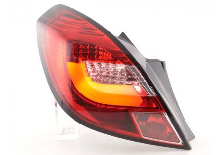 fanali posteriori coppia LED Opel Corsa D 3-porte anno di costruzione 06-10 rosso/chiaro