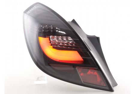 fanali posteriori LED Opel Corsa D 3 porte anno di costr. 06-10 nero