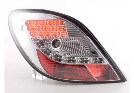 fanali posteriori LED Peugeot 207 anno di costr. 06-09- cromati