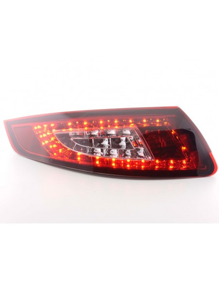 fanali posteriori LED Porsche 911 tipo 997 anno di costr. 05-09- rosso/chiaro